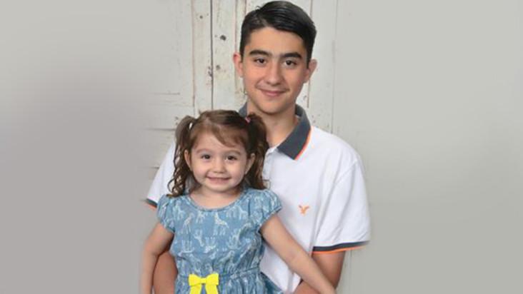 Isabella a jej brat