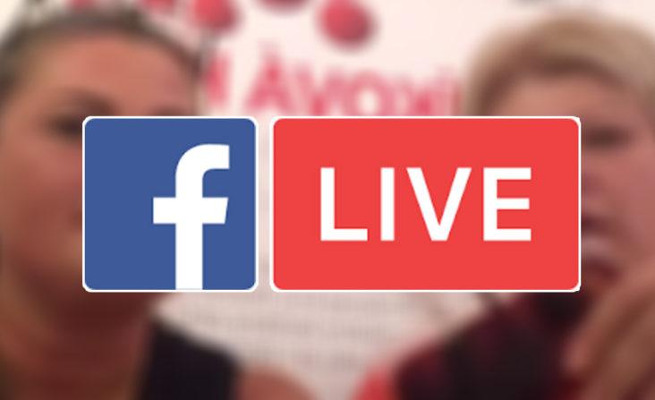 Facebook live stream - Deň pupočníkovej krvi