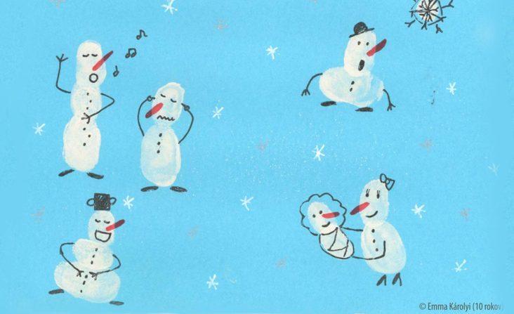 SÚŤAŽ - Vianočná pohľadnica