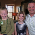 Gina a Wade Gregory s dcerov Graciea a Ryleigh